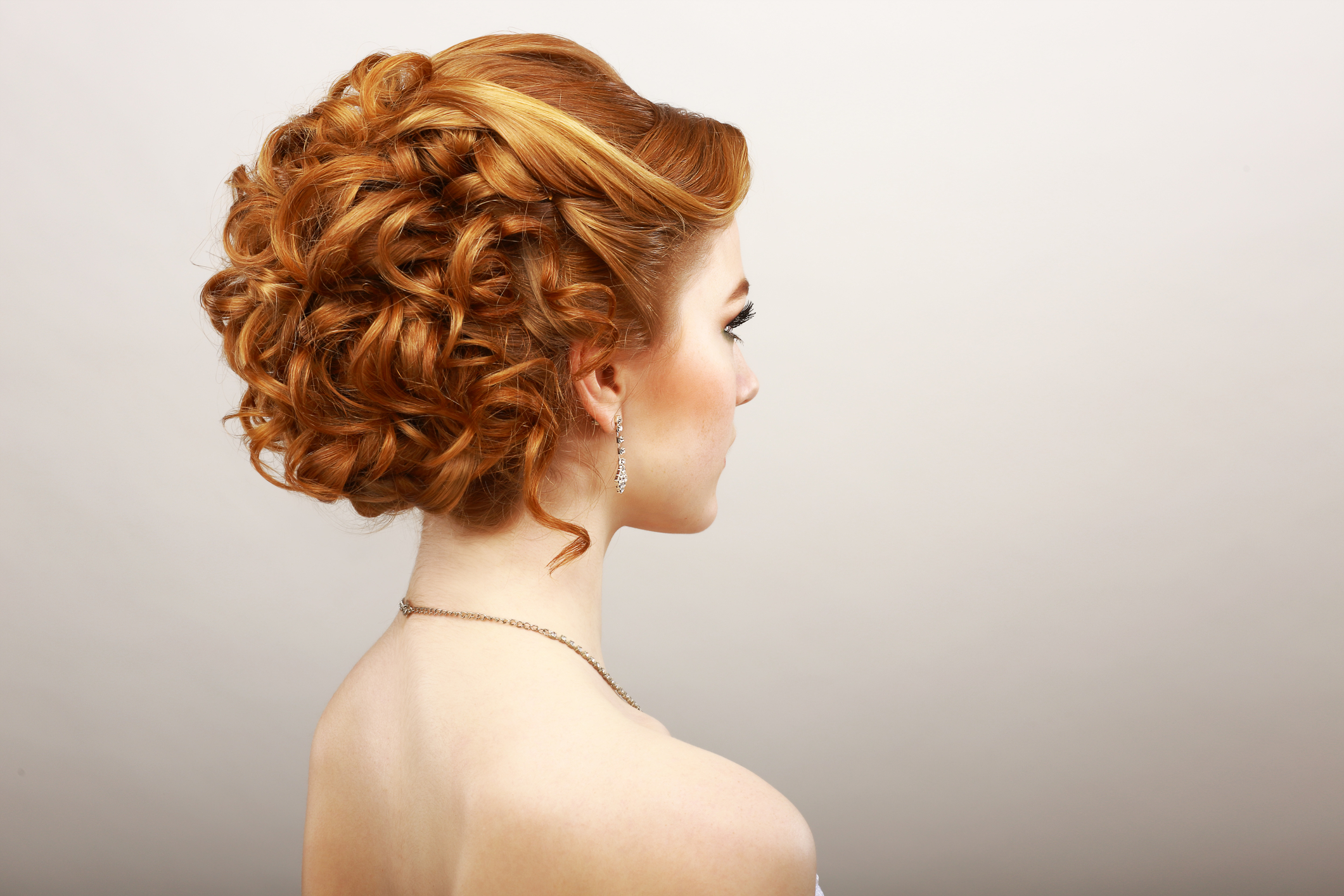 Рыжие волосы вид сзади 19 фотография