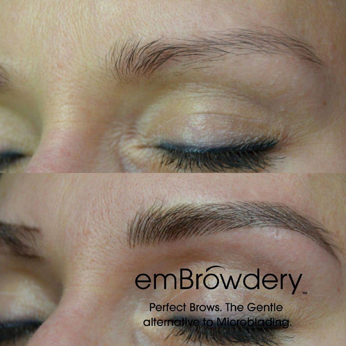 Phi Brows Embrowdery Lemons Hair Beauty Salon